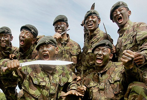 Gurkha rifles