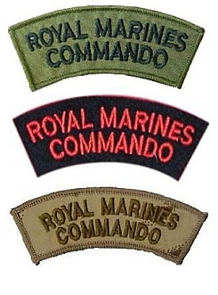 Нашивки «дуги» Royal Marines