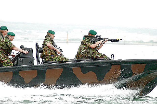 Rigid Raider Royal Marines
