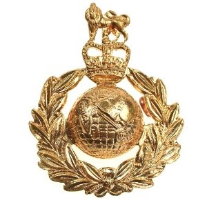 Кокарда офицера (Royal Marines Queen's)