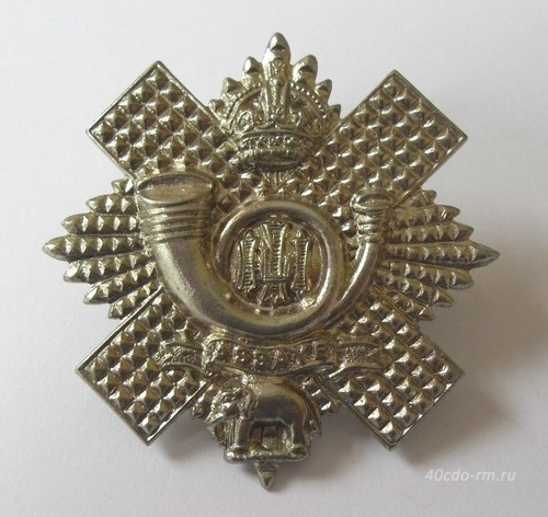 Кокарда HIGHLAND LIGHT INFANTRY