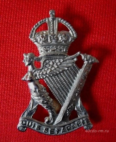 Кокарда ROYAL IRISH RIFLES