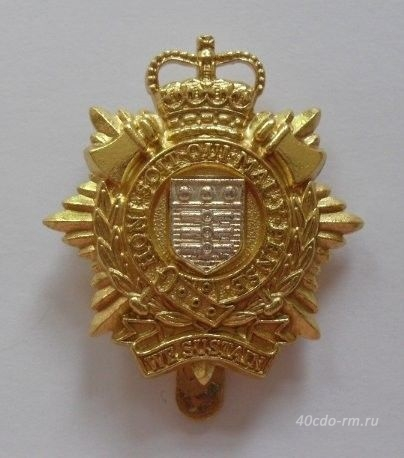 Кокарда ROYAL LOGISTIC CORPS