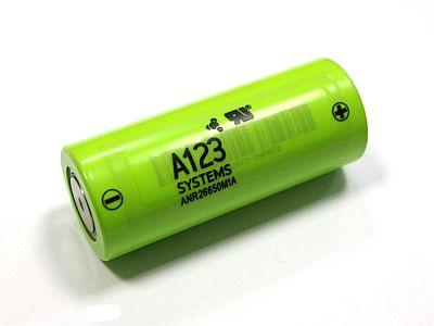 Литий-нанофосфатный аккумулятор A123 Sustems