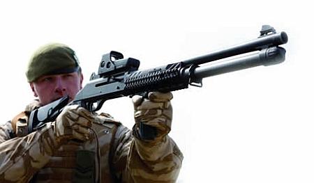 Армейский боевой дробовик (L128A1 combat shotgun) Combat-shotgun