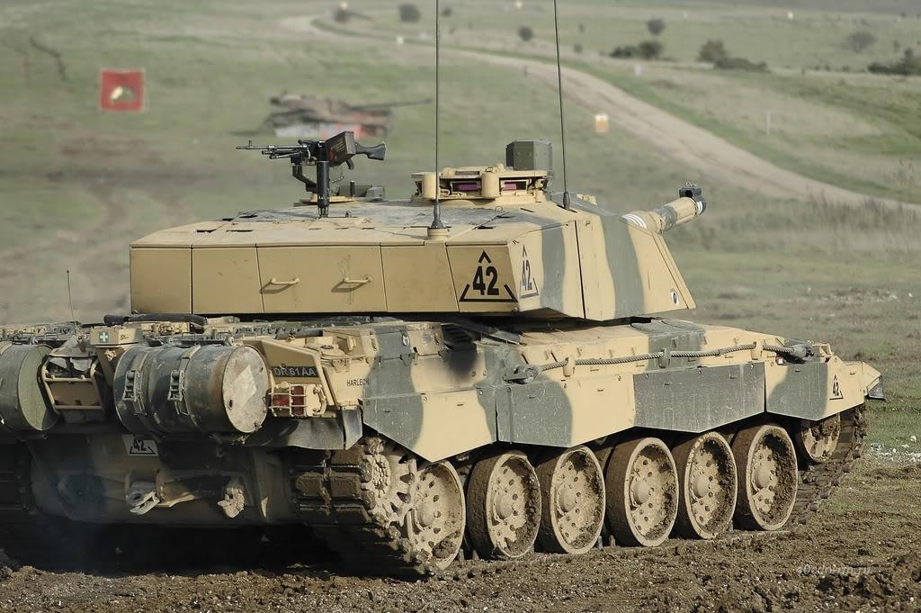 Британский танк Челленджер 2